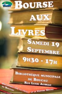 Affiche Bourse aux livres 2015
